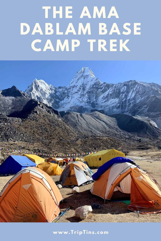 Base Camp Ama Dablam Nepal