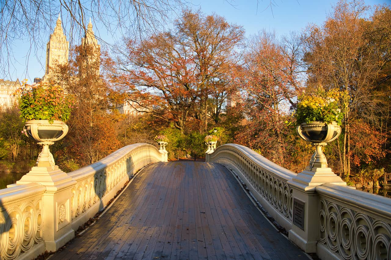 Bow Bridge Entrance