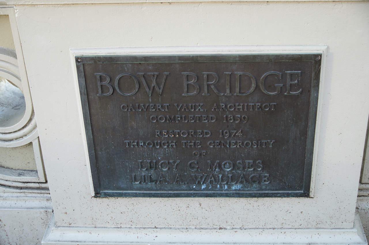 Bow Bridge Sign