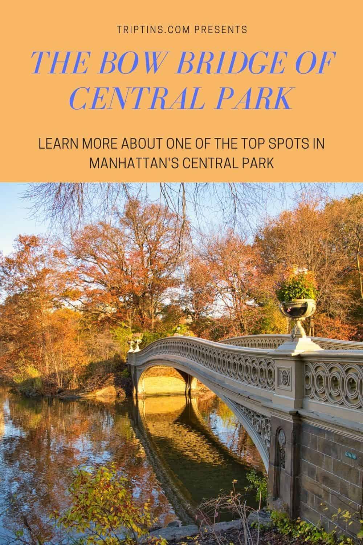 Bow Bridge of Central Park