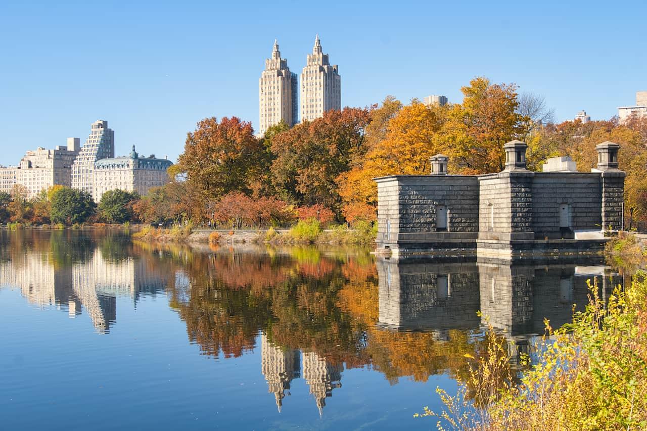 Central Park Manhattan Reservoir Loop