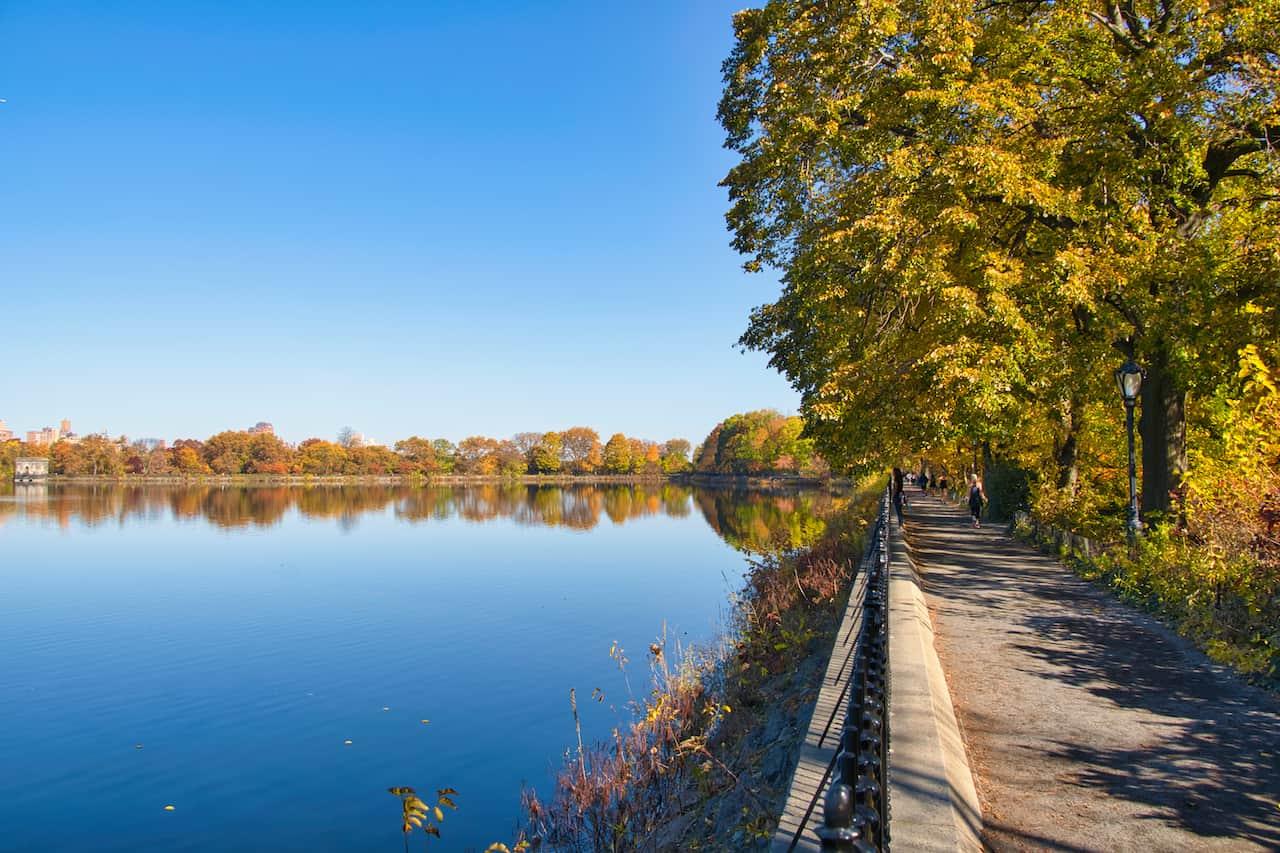 Central Park NYC Reservoir