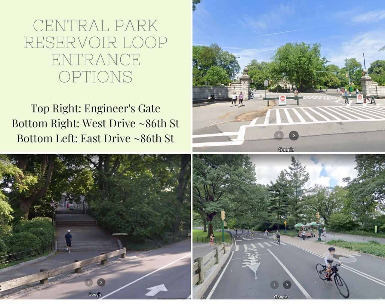 Central Park Reservoir Entrance