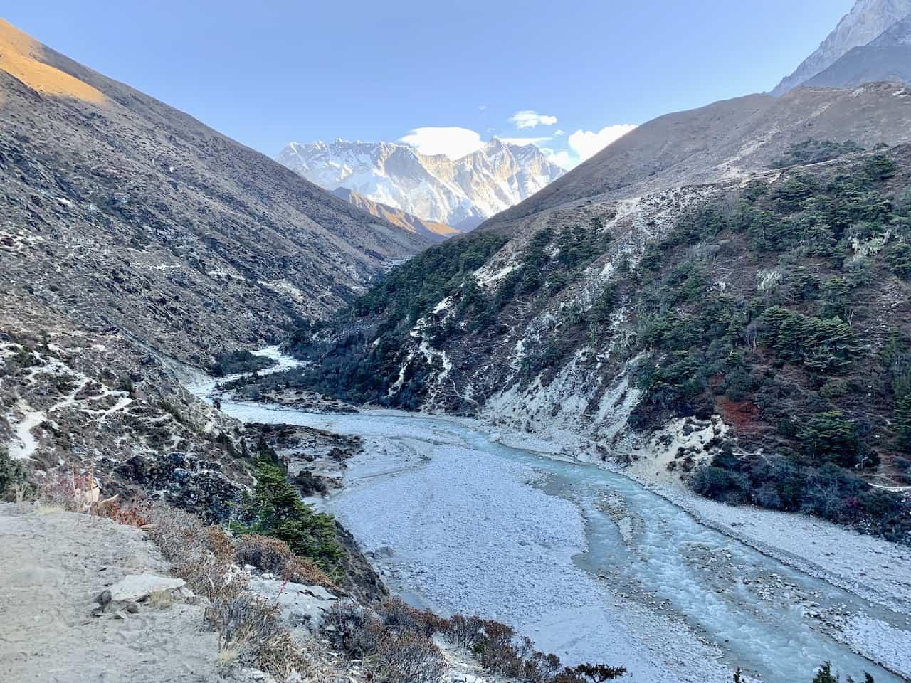 Dhudh Kosi River Pangboche Nepal
