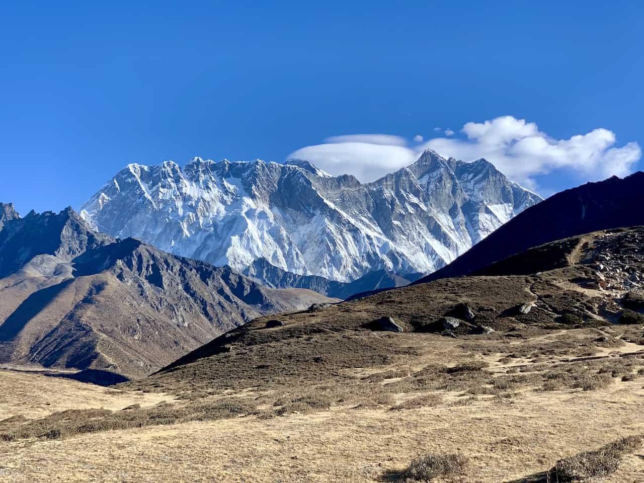 Everest Mountain Range Pangboche