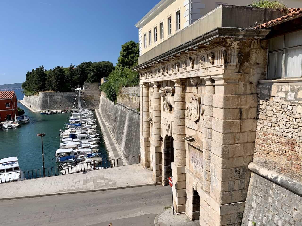 Land Gate Zadar