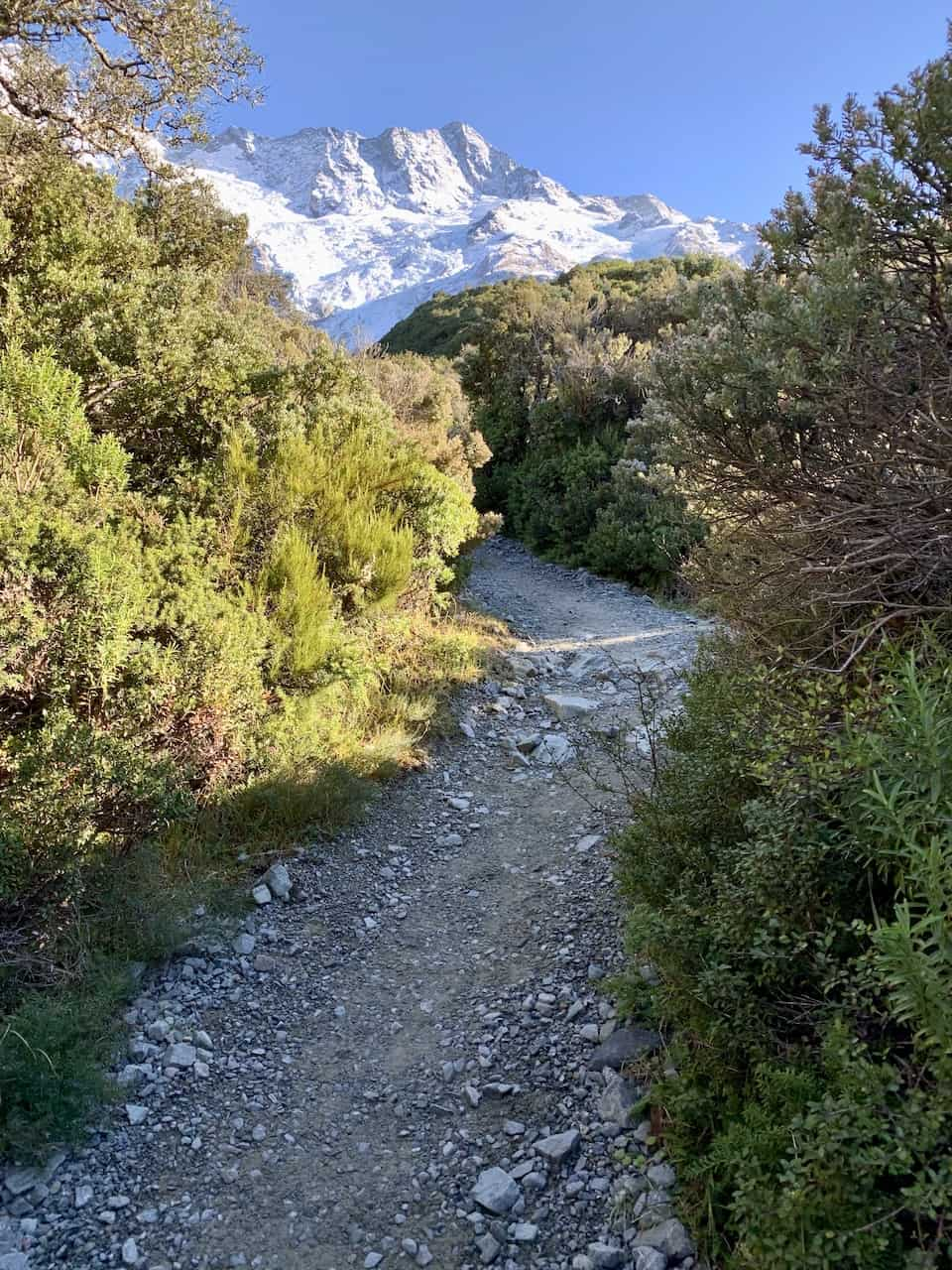 Mt Cook Sealy Tarns