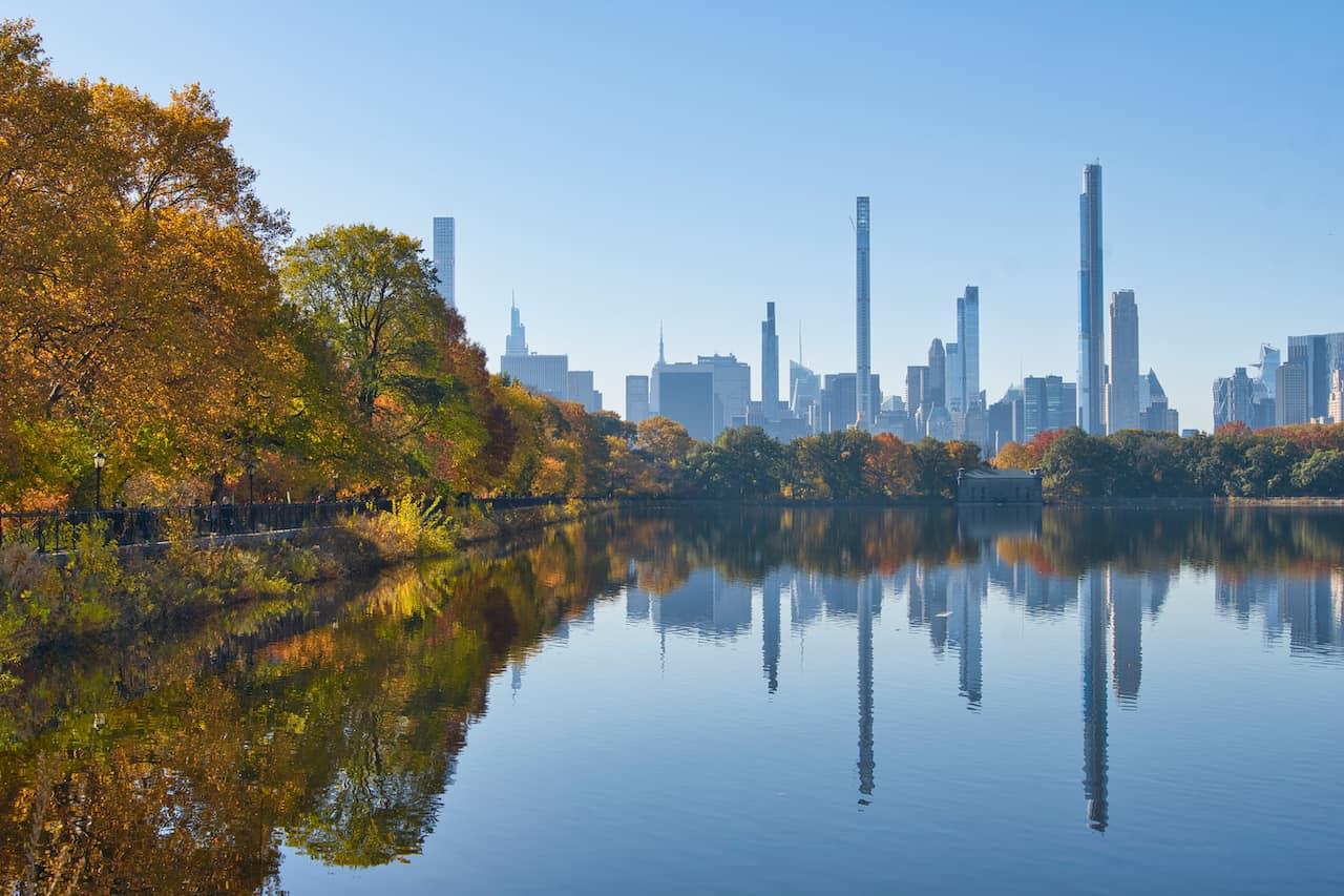 NYC Skyline Central Park