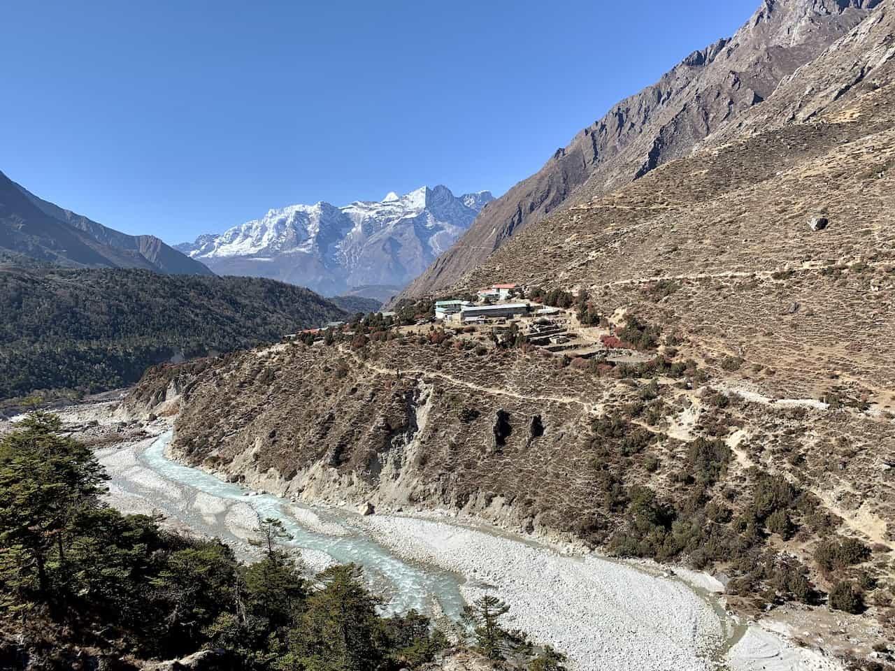Pangboche Village Himalayas