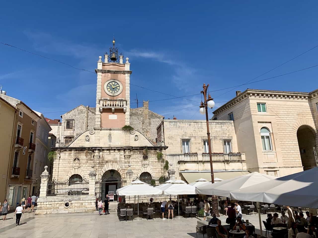 Peoples Square Zadar