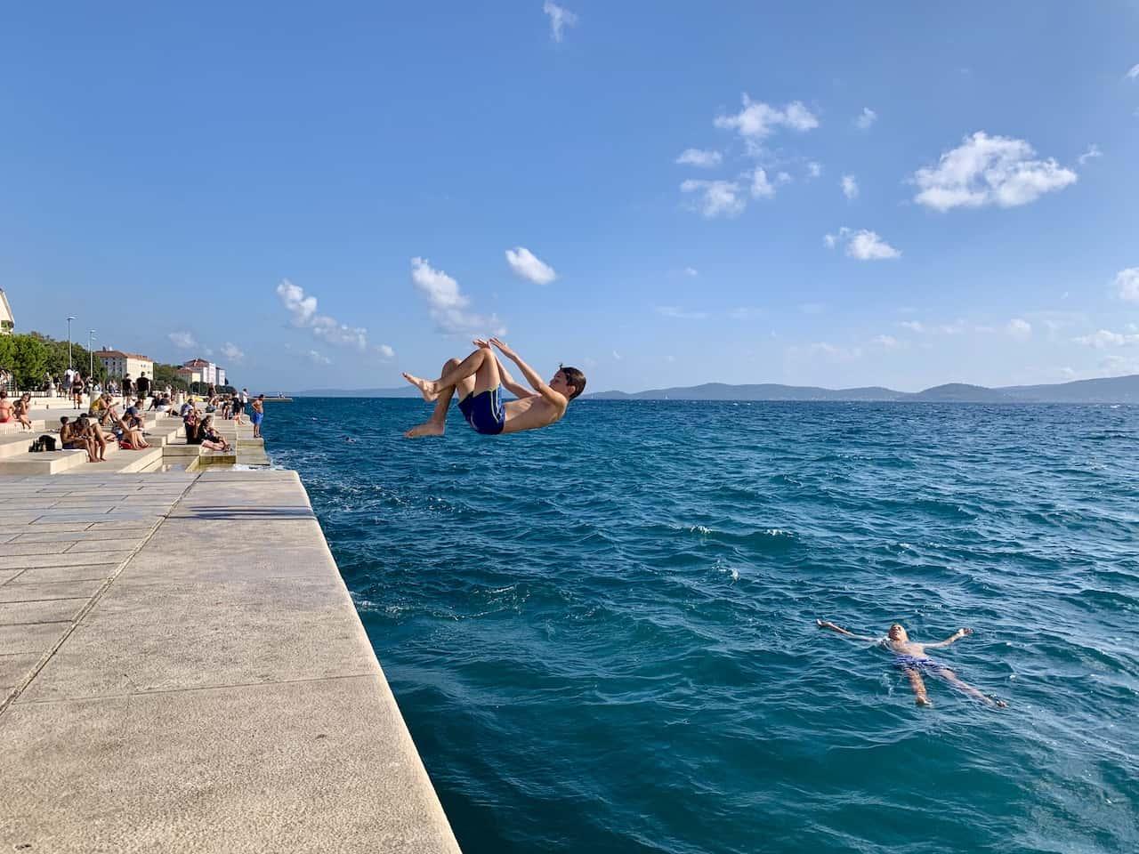 Seafront Promenade Zadar
