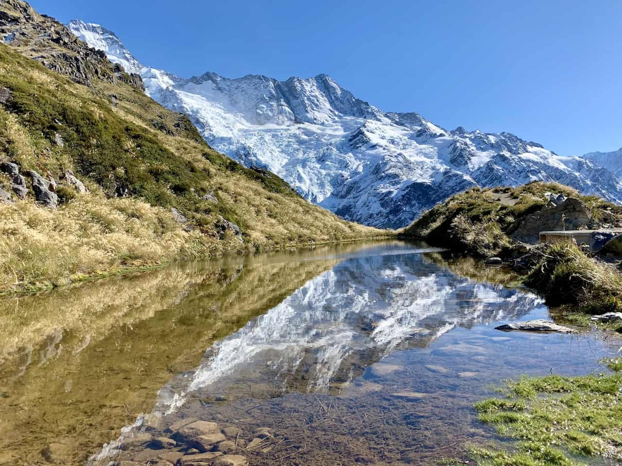 Sealy Tarns Mount Cook National Park