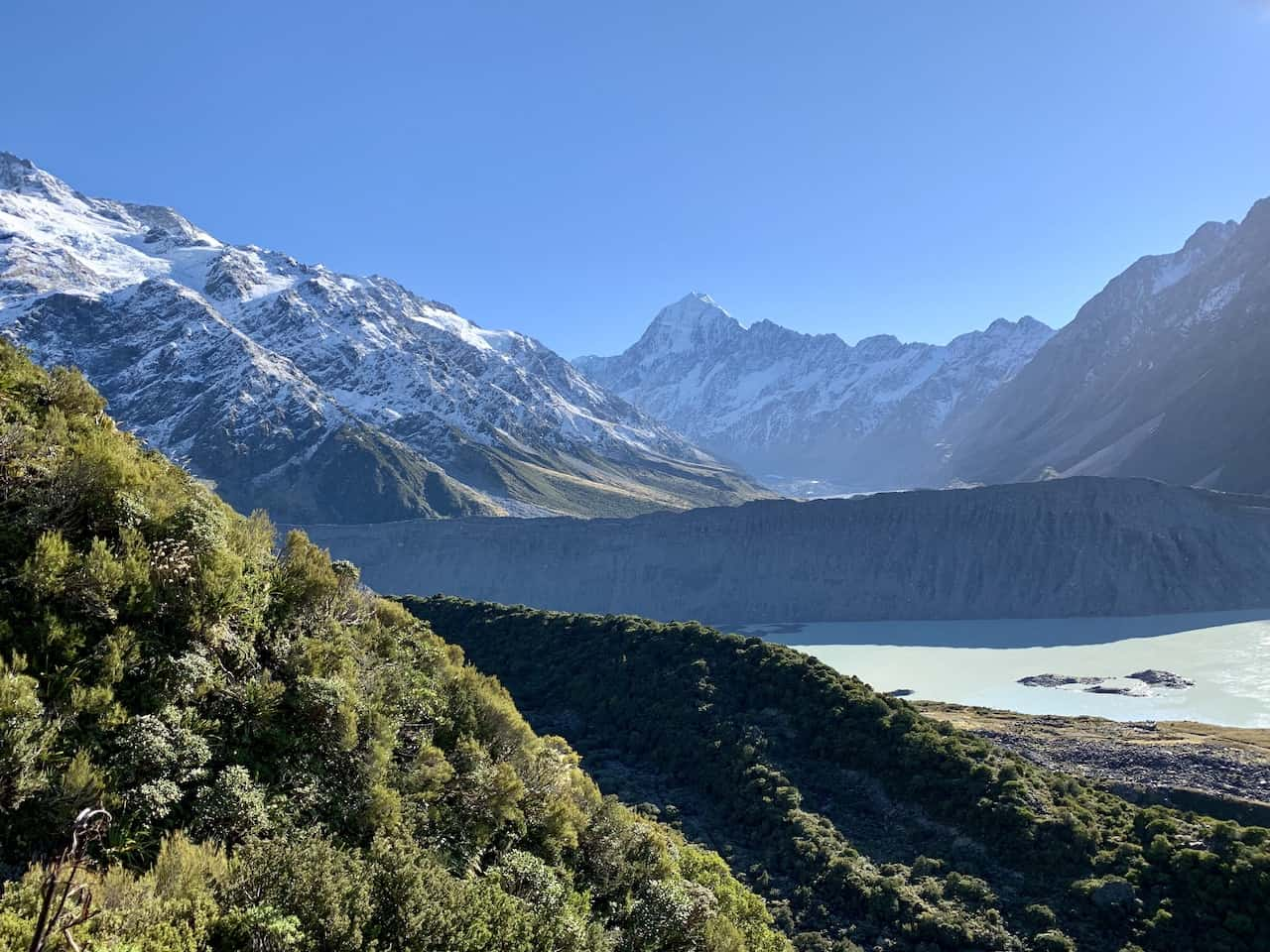 Sealy Tarns Mount Cook View