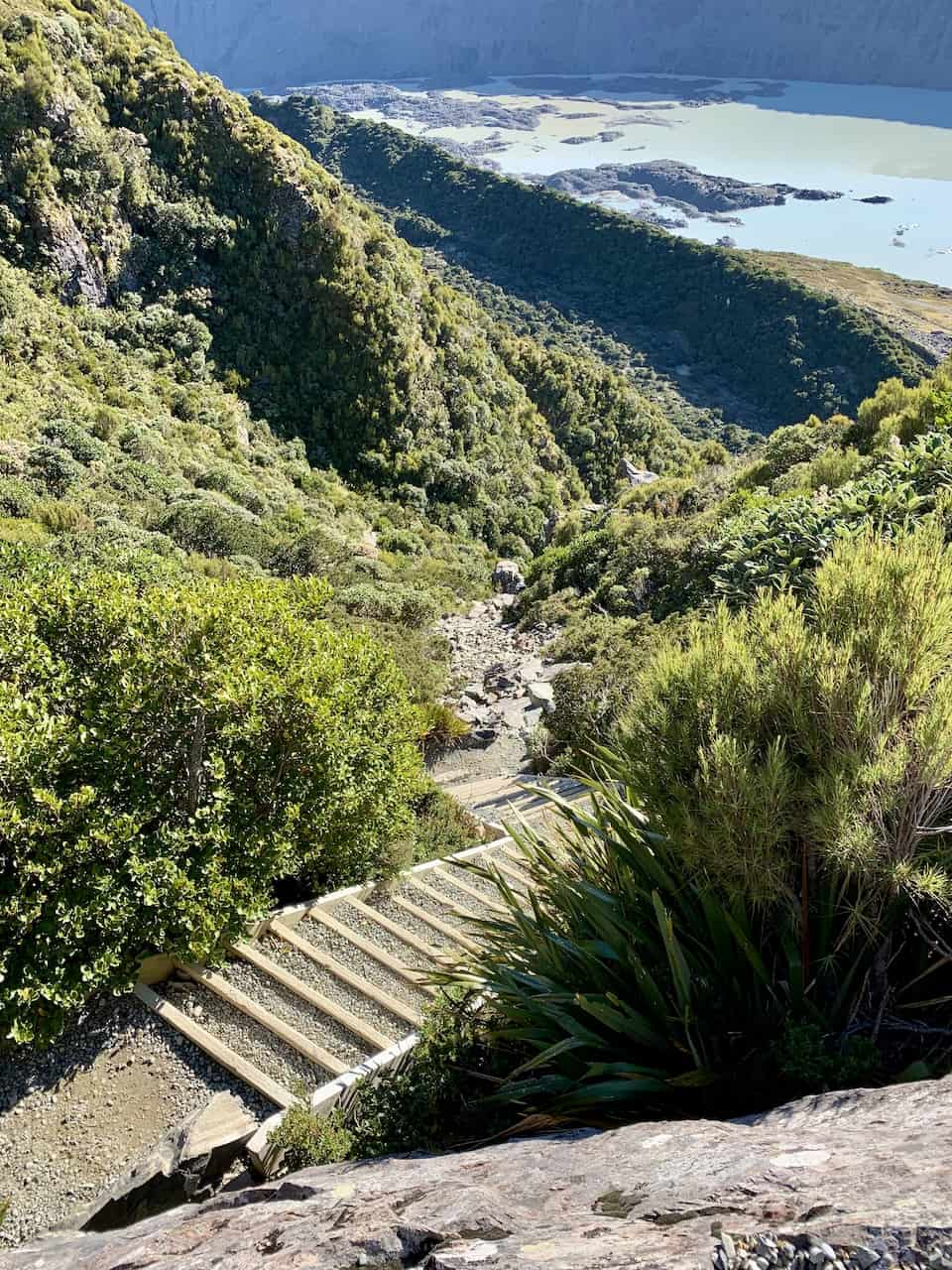Sealy Tarns Track Stairs