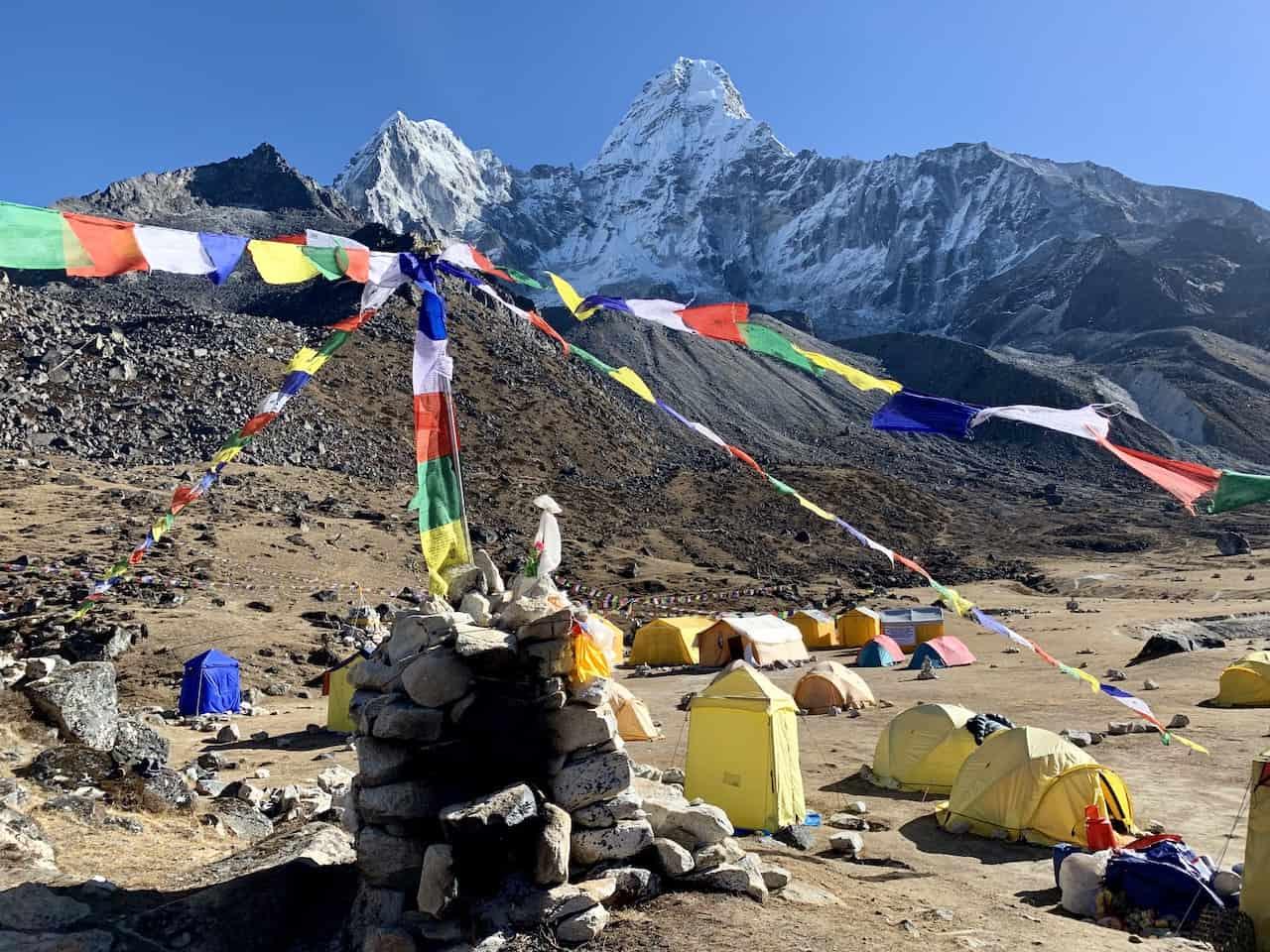 Sherpa Flags Ama Dablam