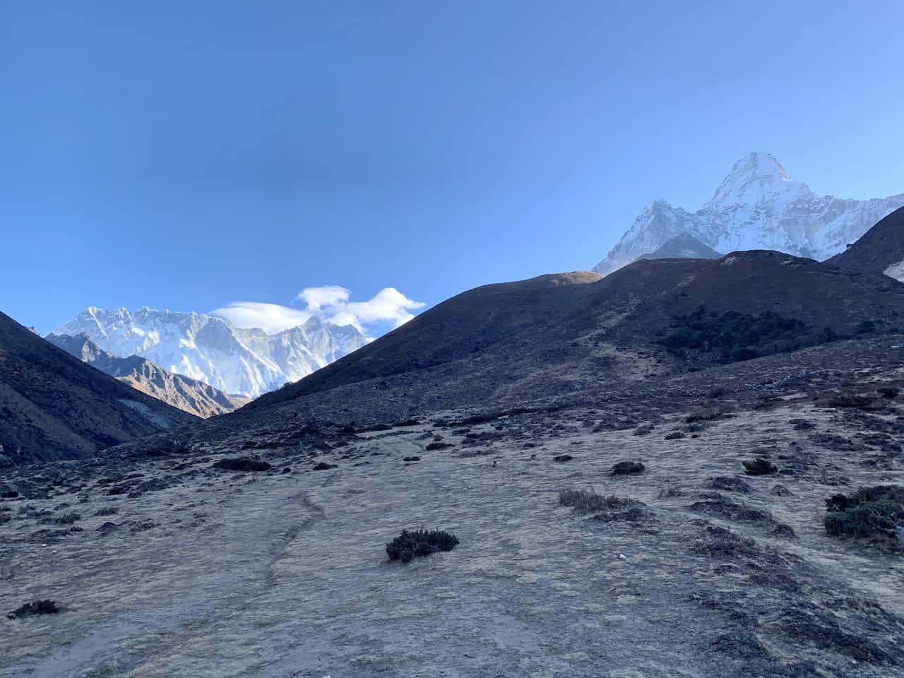 Trekking to Ama Dablam
