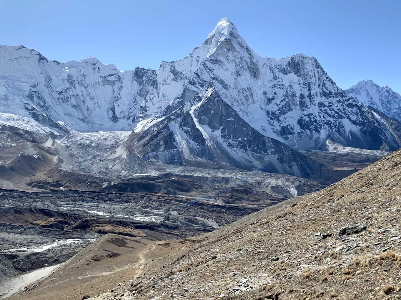 Ama Dablam Glacier View