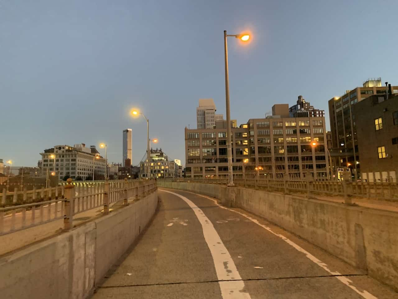 Approach to Brooklyn Bridge