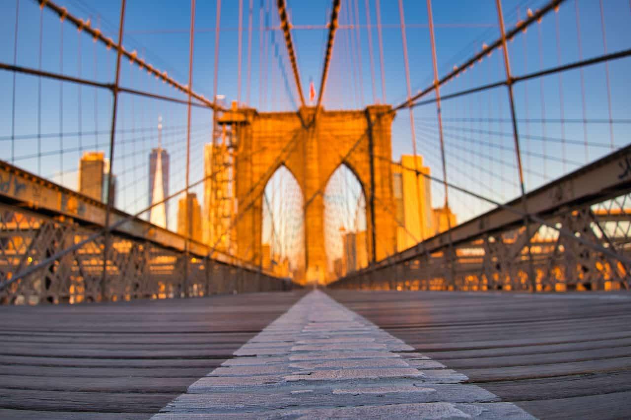 Brooklyn Bridge Pathway