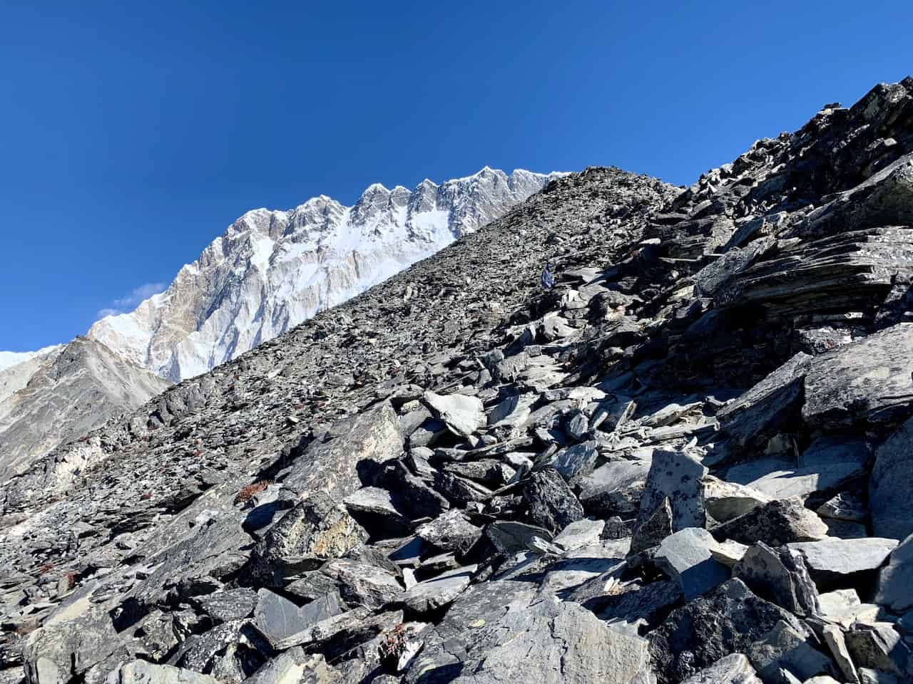 Chukhung Ri Climb