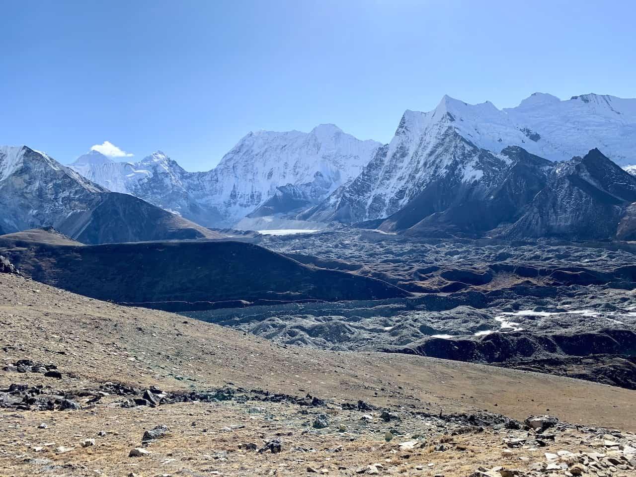 Chukhung Ri Glacier