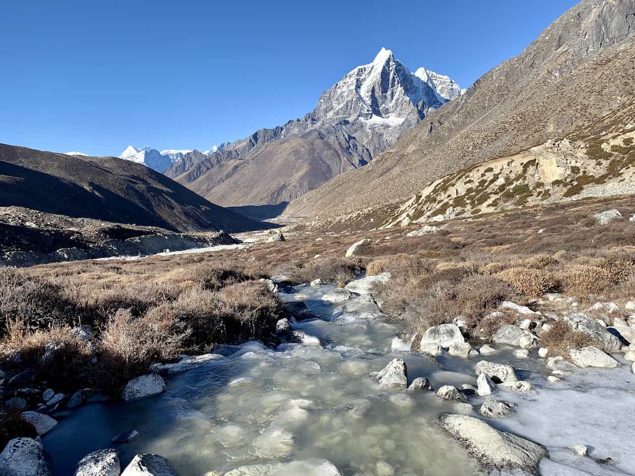 Dingboche to Chukhung River
