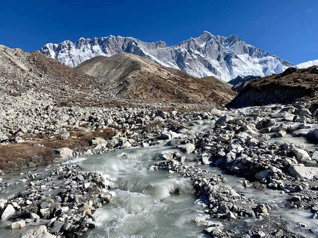 Dingboche to Chukhung Route