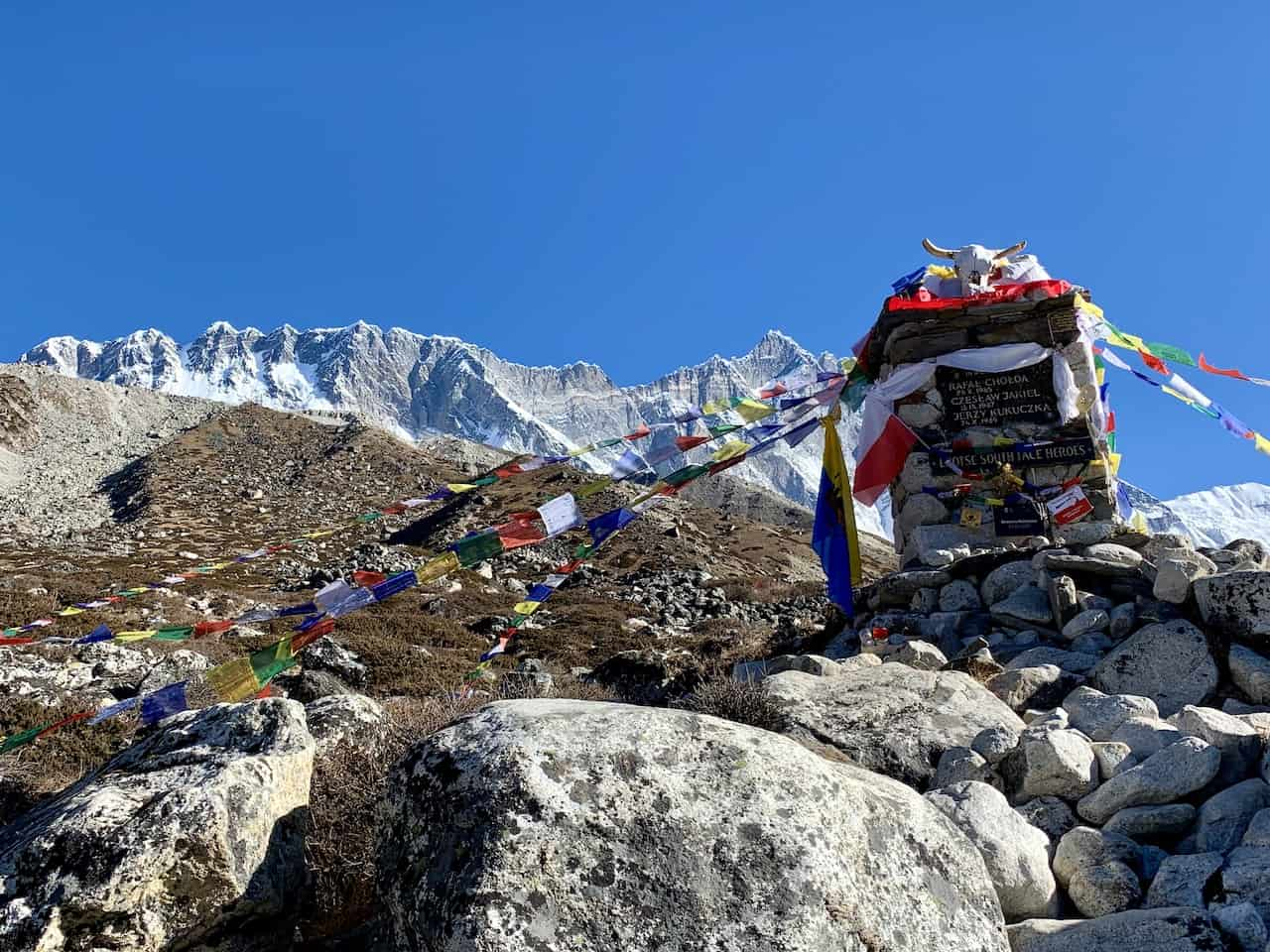 Lhotse South Face Memorial