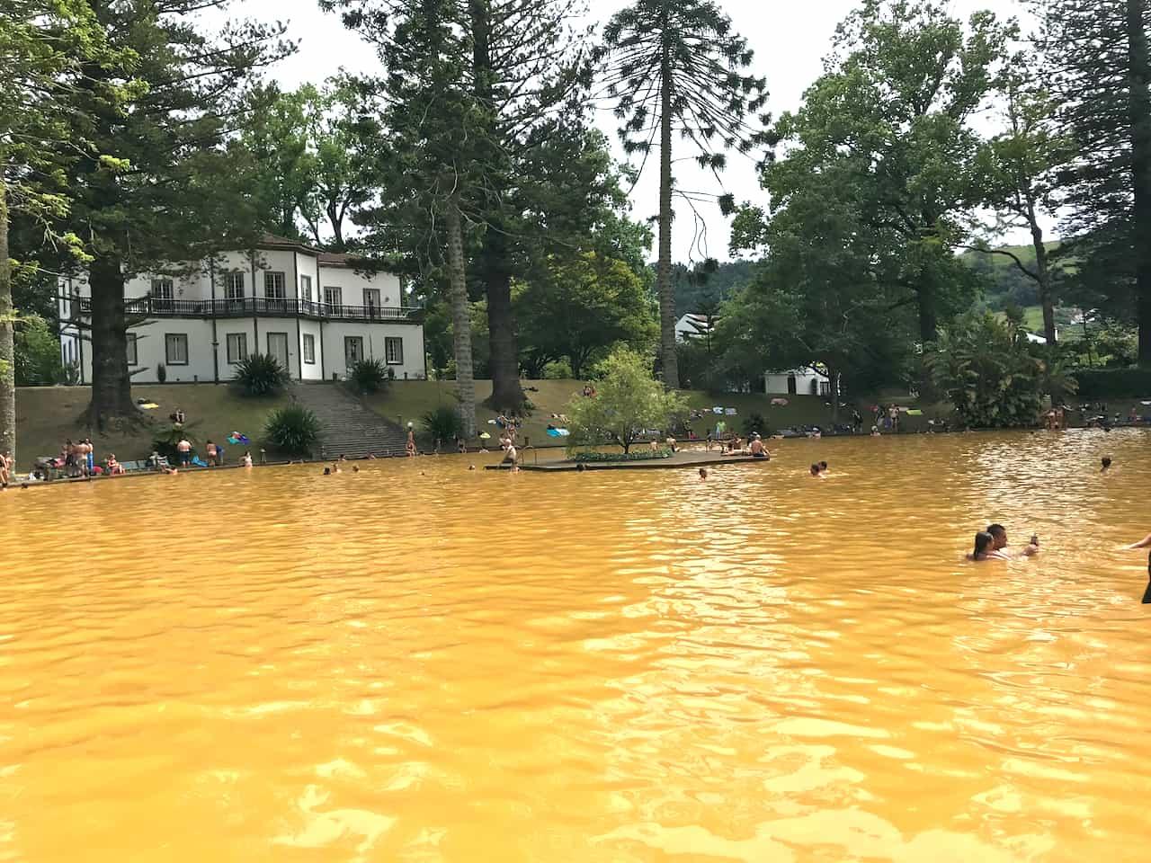 Parque Terra Nostra Pool