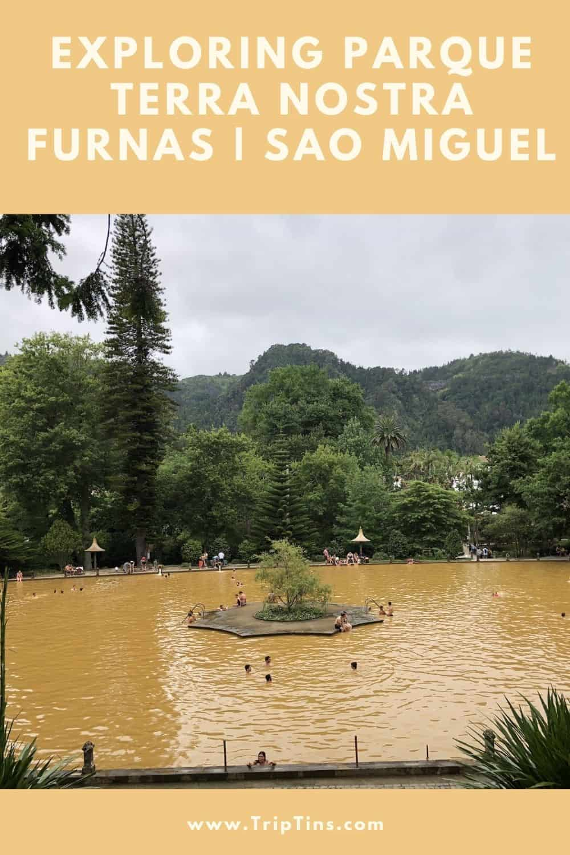 Parque Terra Nostra Sao Miguel