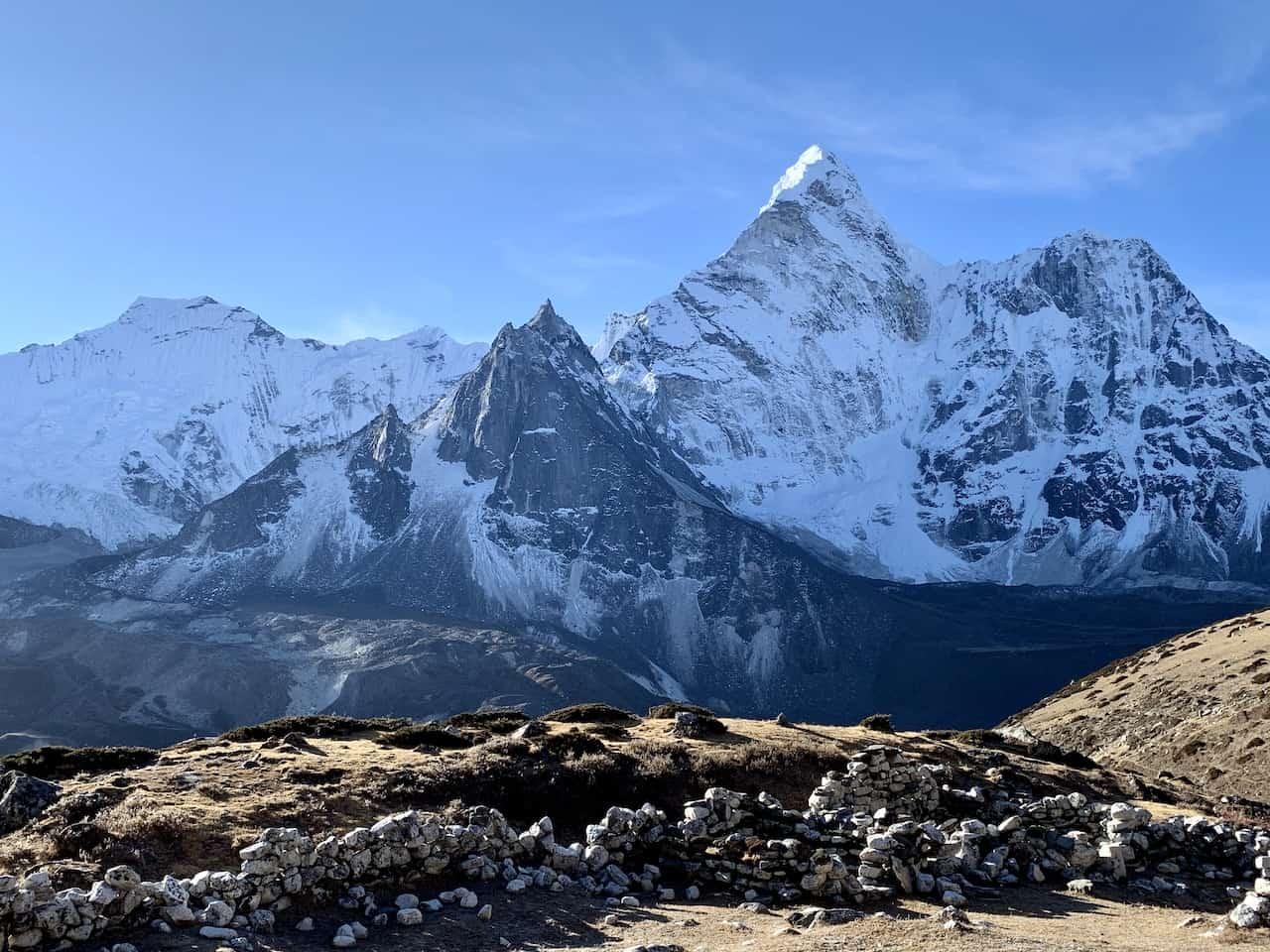 Ama Dablam Views Himalayas