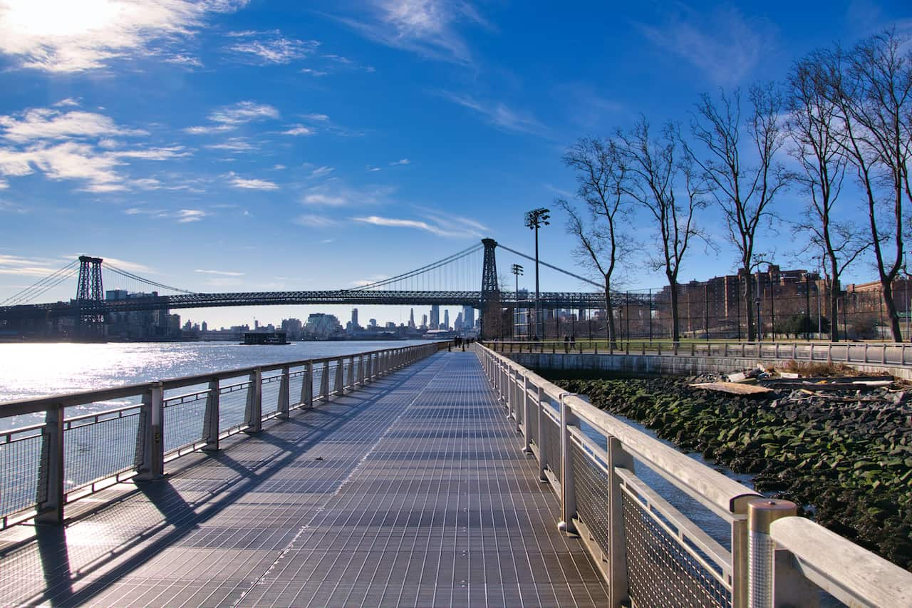 East River Pathway Walk