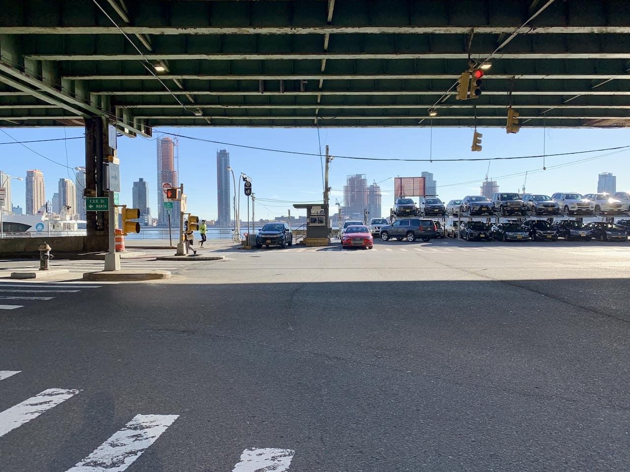 East River Walkway Entrance