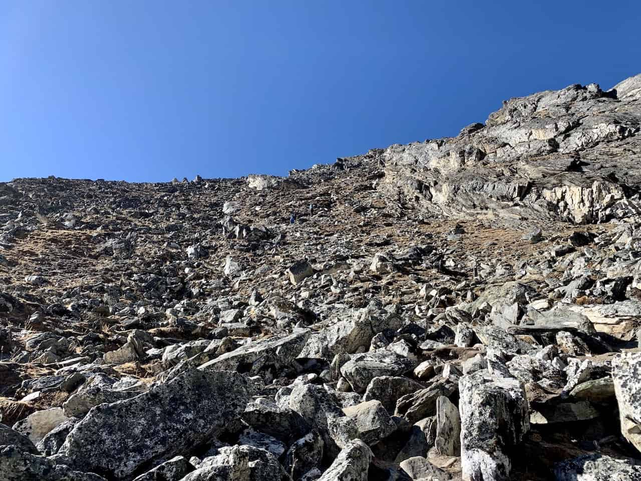 Kongma La Pass Difficulty