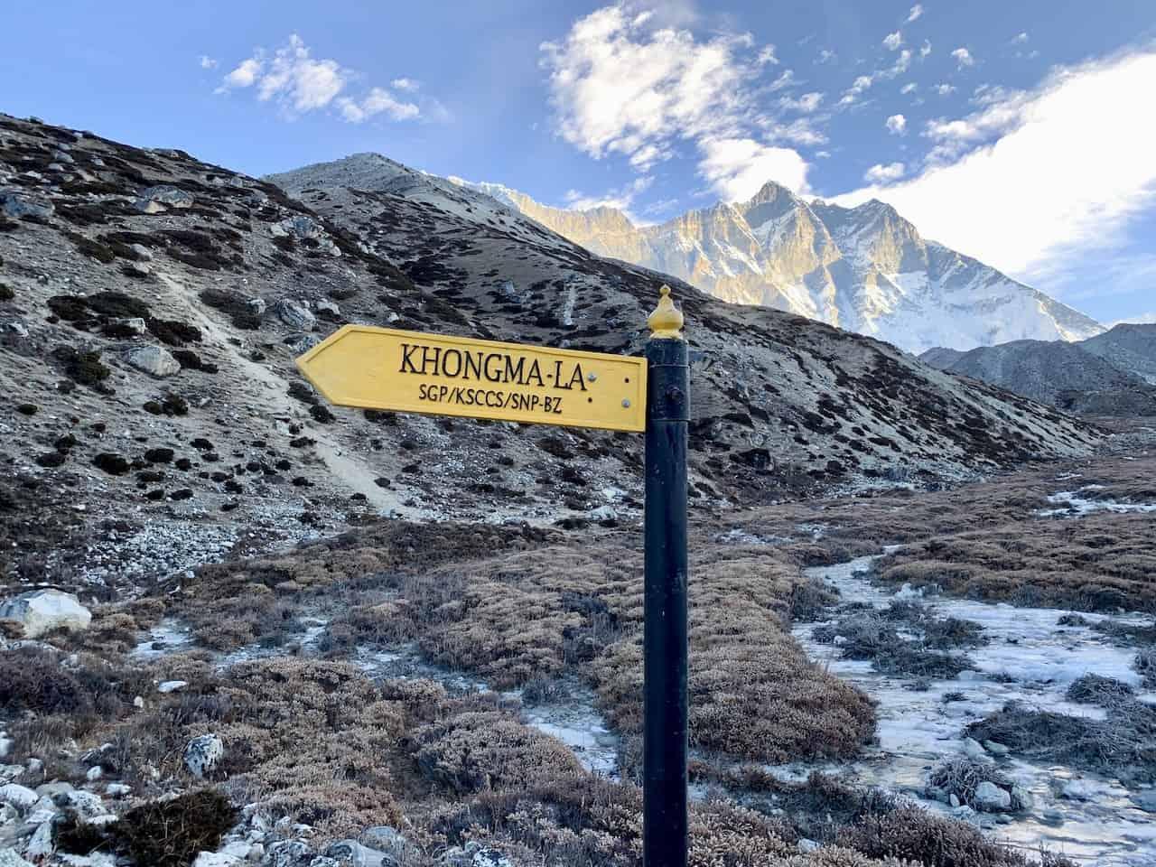 Kongma La Pass Directions