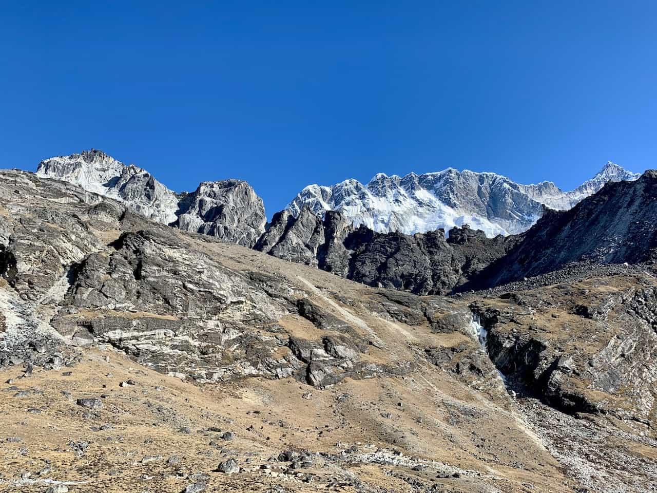 Kongma La Pass Mountains