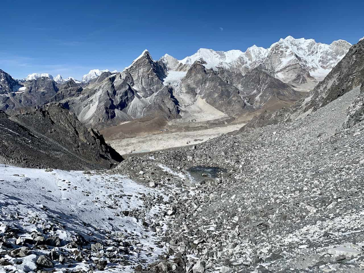 Kongma La Pass to Lobuche
