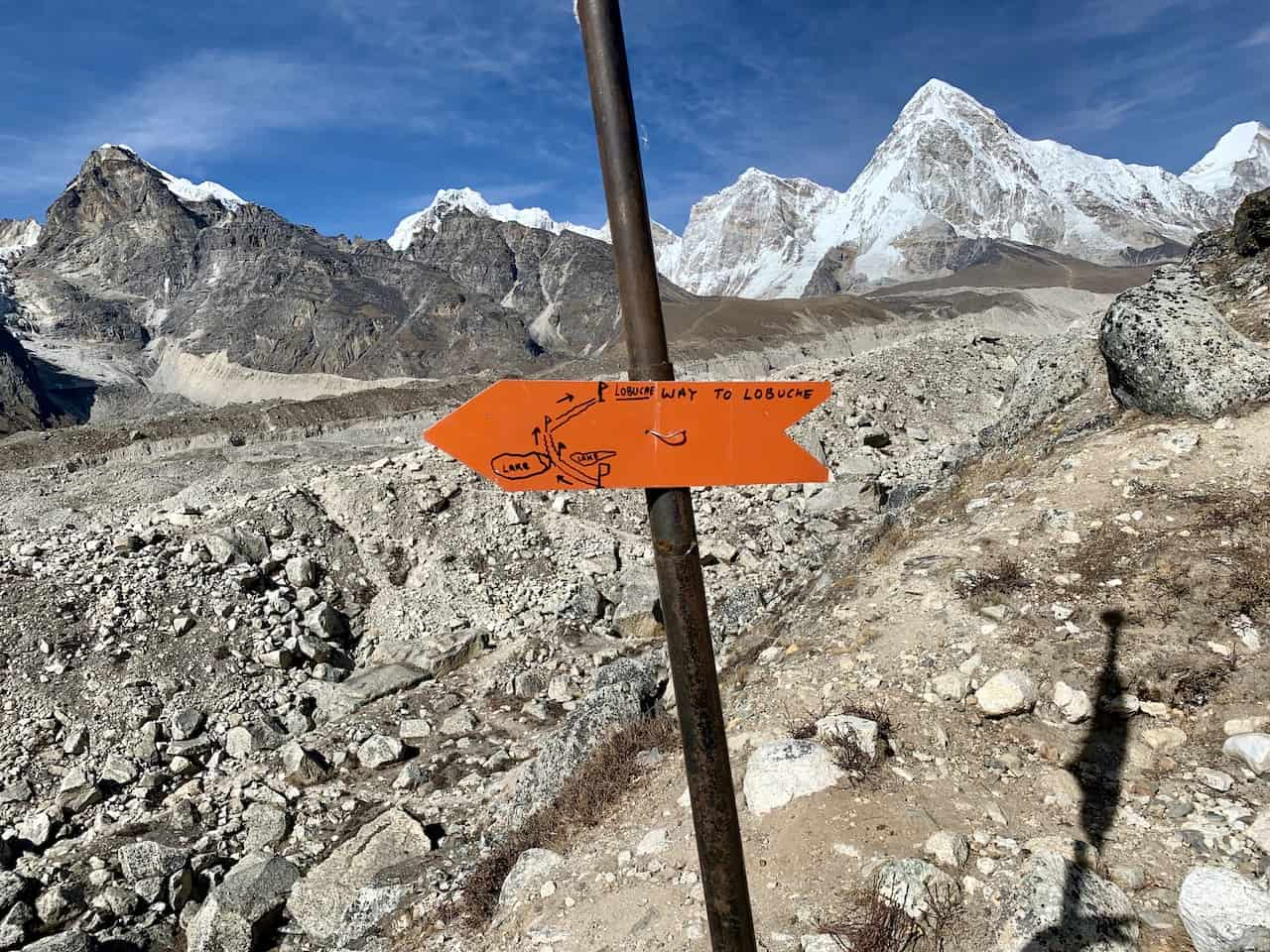 Lobuche Khumbu Glacier