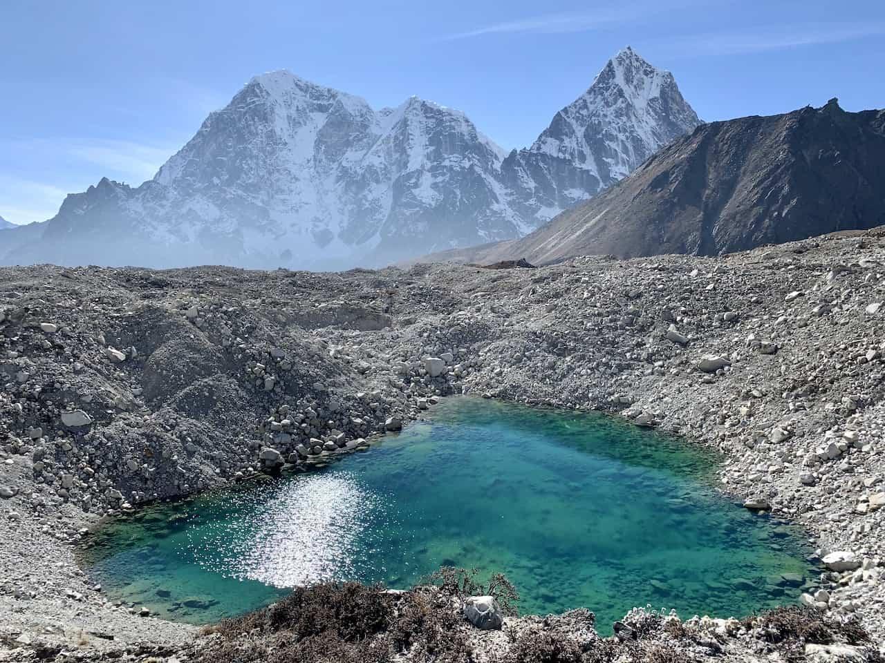 Lobuche Mountains Himalayas