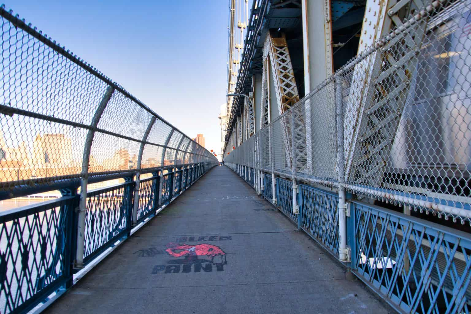 Manhattan Bridge Pedestrian Path