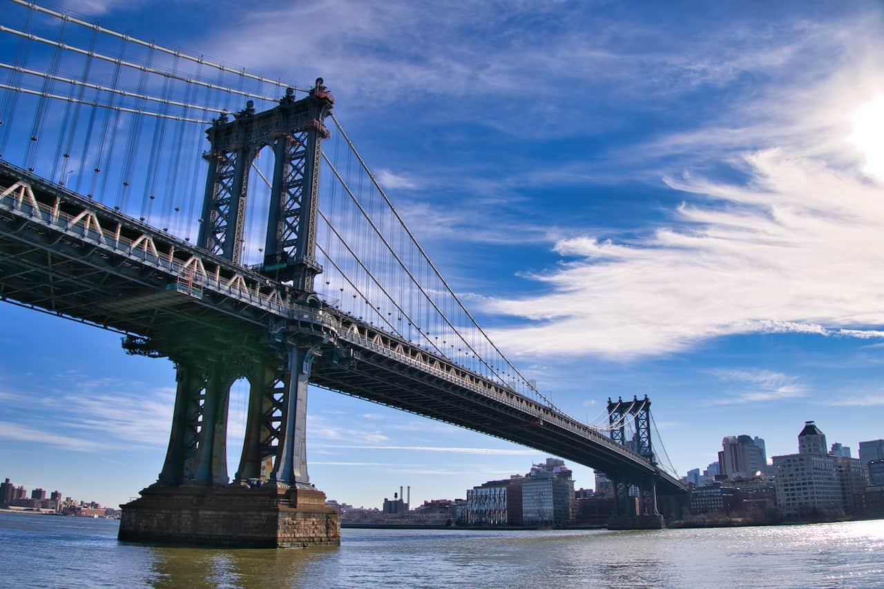 Manhattan Bridge View NYC
