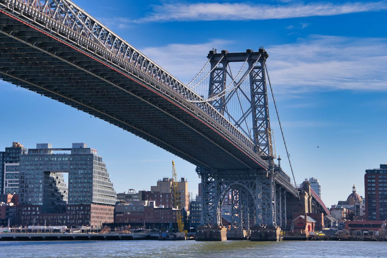 Williamsburg Bridge East River