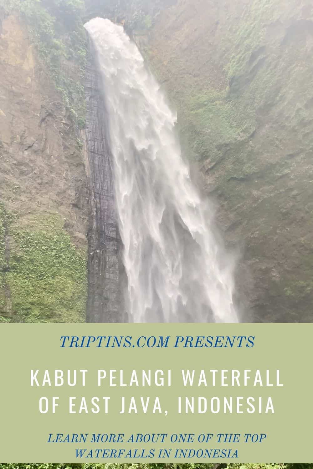 Kabut Pelangi Waterfall East Java Indonesia