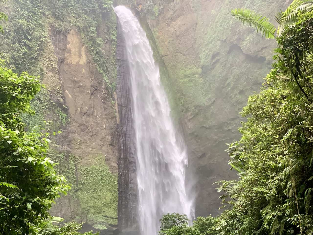 Kabut Pelangi Waterfall View