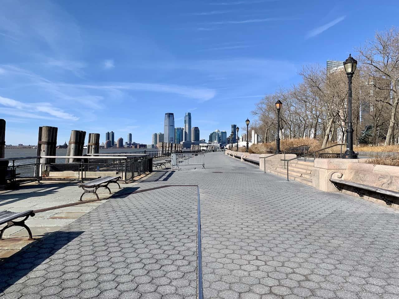 Battery Park Promenade