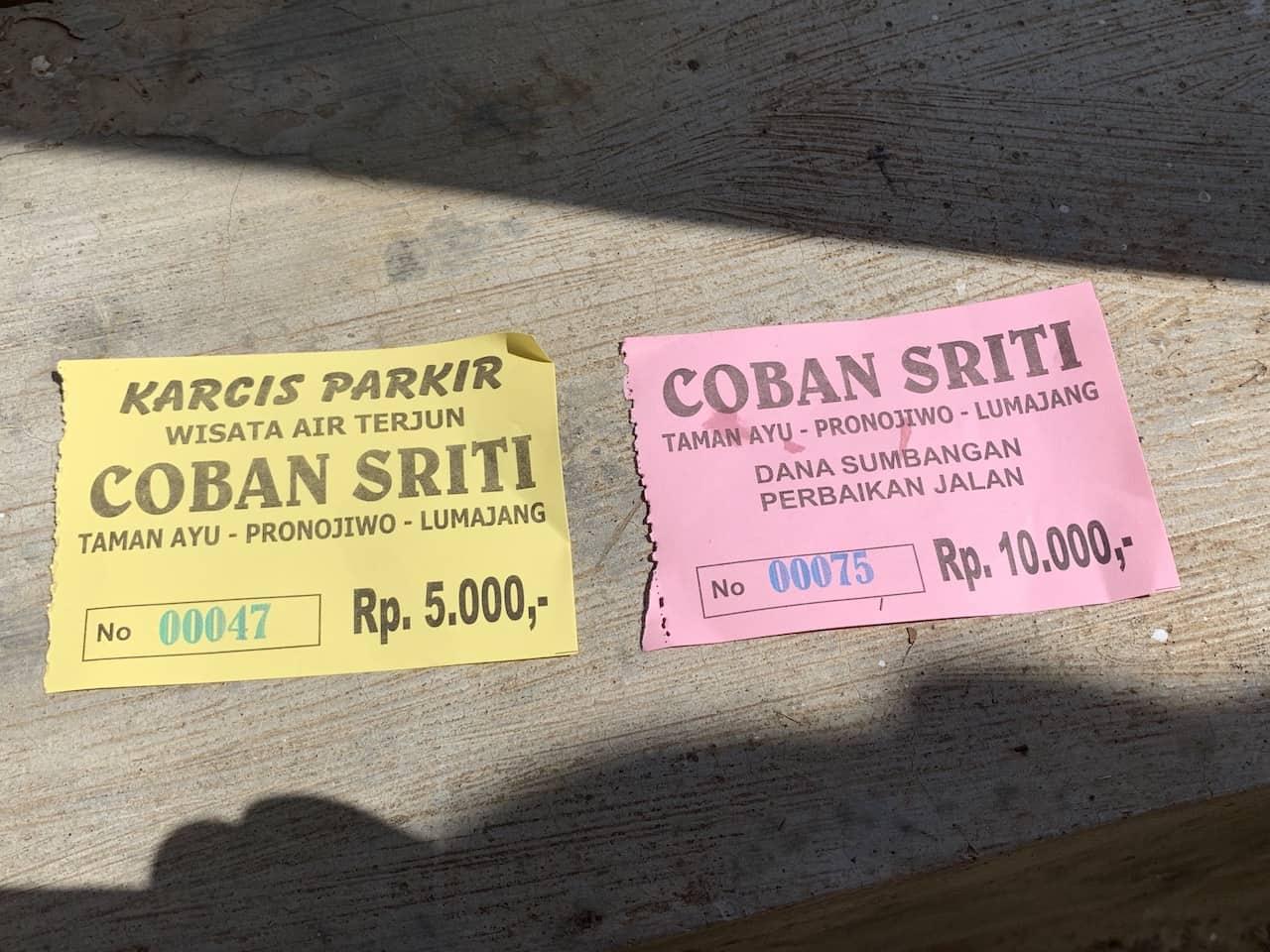 Coban Sriti Tickets