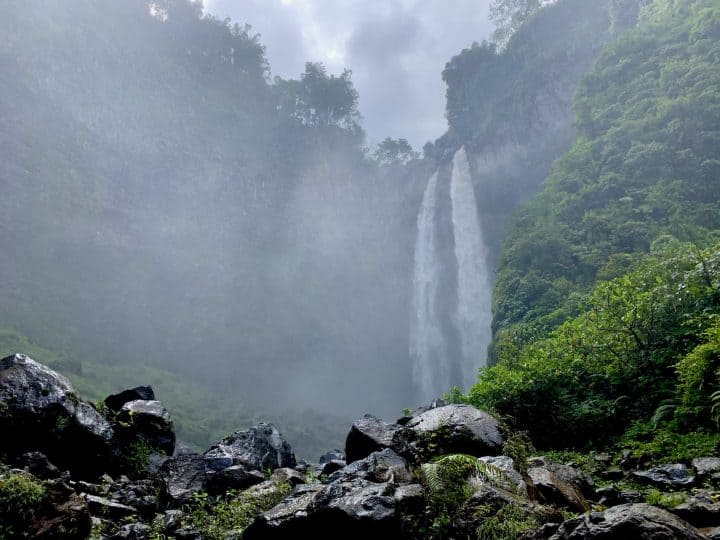 Visiting Coban Sriti Waterfall of East Java