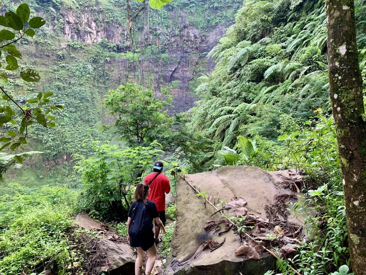 East Java Waterfall Trekking