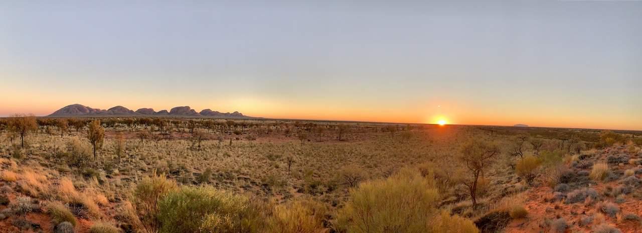 Kata Tjuta Panoramic Sunrise
