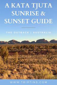Kata Tjuta Sunrise and Sunset Australia
